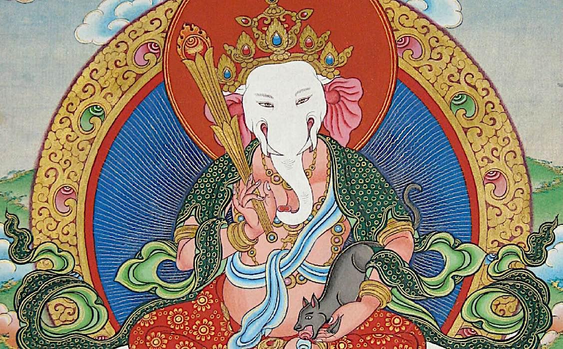 Buddha Weekly Feature image Buddhist Lord Ganesha Tibetan wealth deity guardian Buddhism