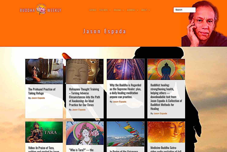 Buddha Weekly Features by Jason Espada Buddhism
