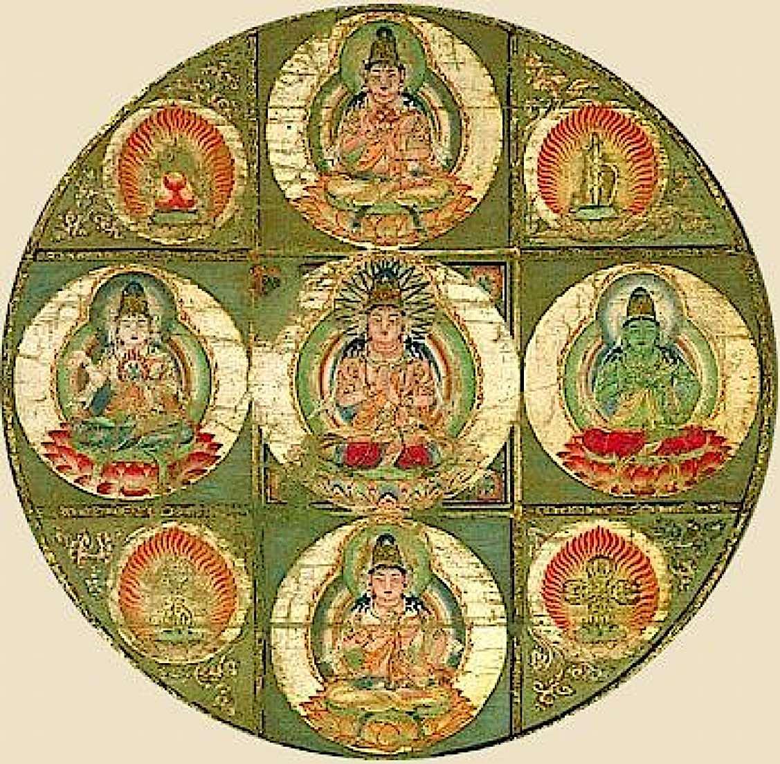 Buddha Weekly Five Tathagatas Buddhism