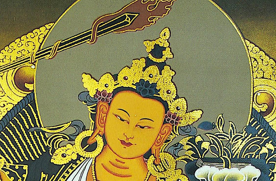 Buddha Weekly Flaming Sword Khadga of Manjushri Buddhism