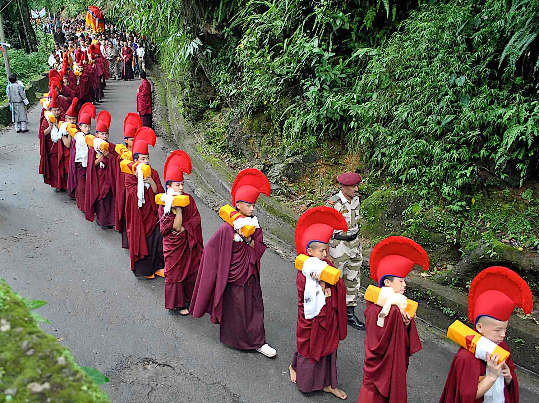 Buddha Weekly Formal carrying of Buddhist texts photo Bishal Cintury dreamstime xxl 192856008 Buddhism