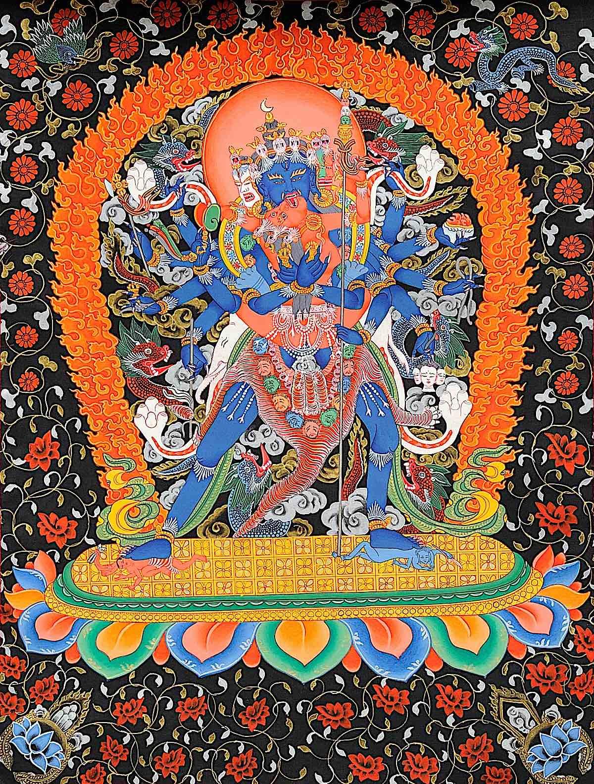 Buddha Weekly GORGEOUS Heruka Vajrayogini Buddhism