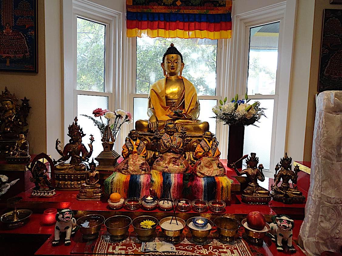 Buddha Weekly Gaden Choling Altar Buddhism