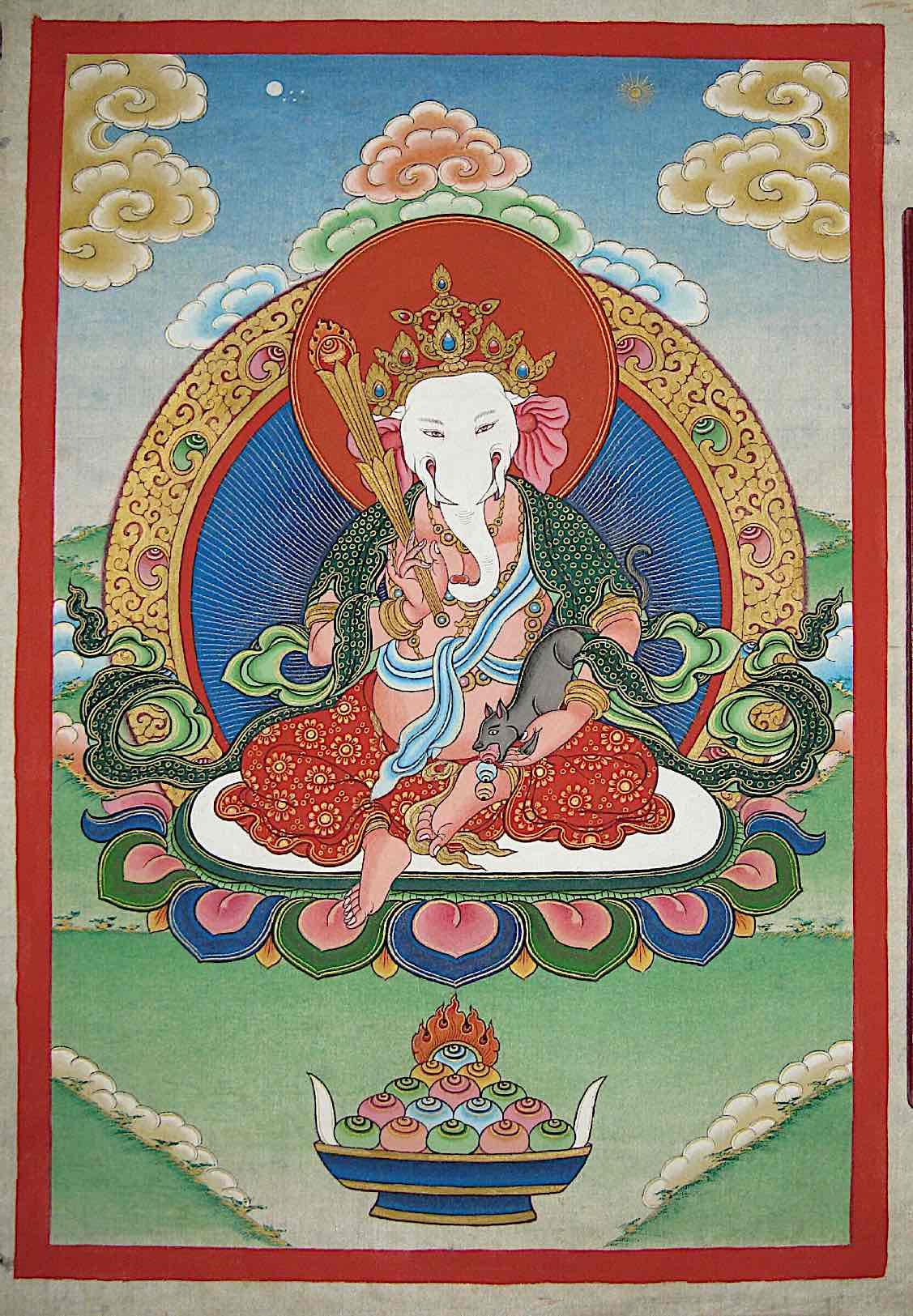 Buddha Weekly Ganesha beautiful Tibetan Buddhism