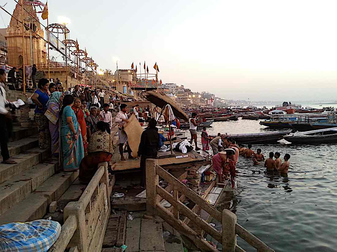 Buddha Weekly Ganges river Varanasi India Buddhism
