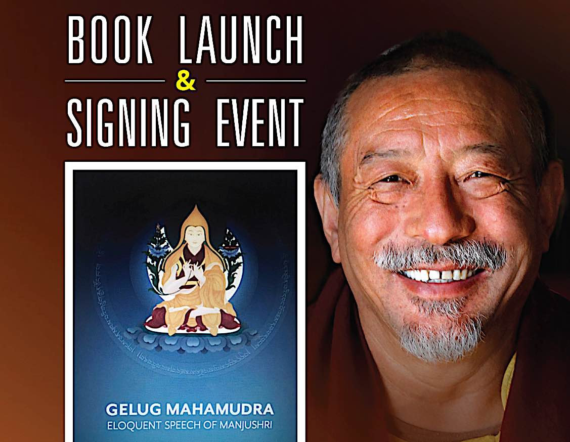 Buddha Weekly Gelug Mahamudra book launch and signing with H E Zasep Rinpoche Feature image Buddhism