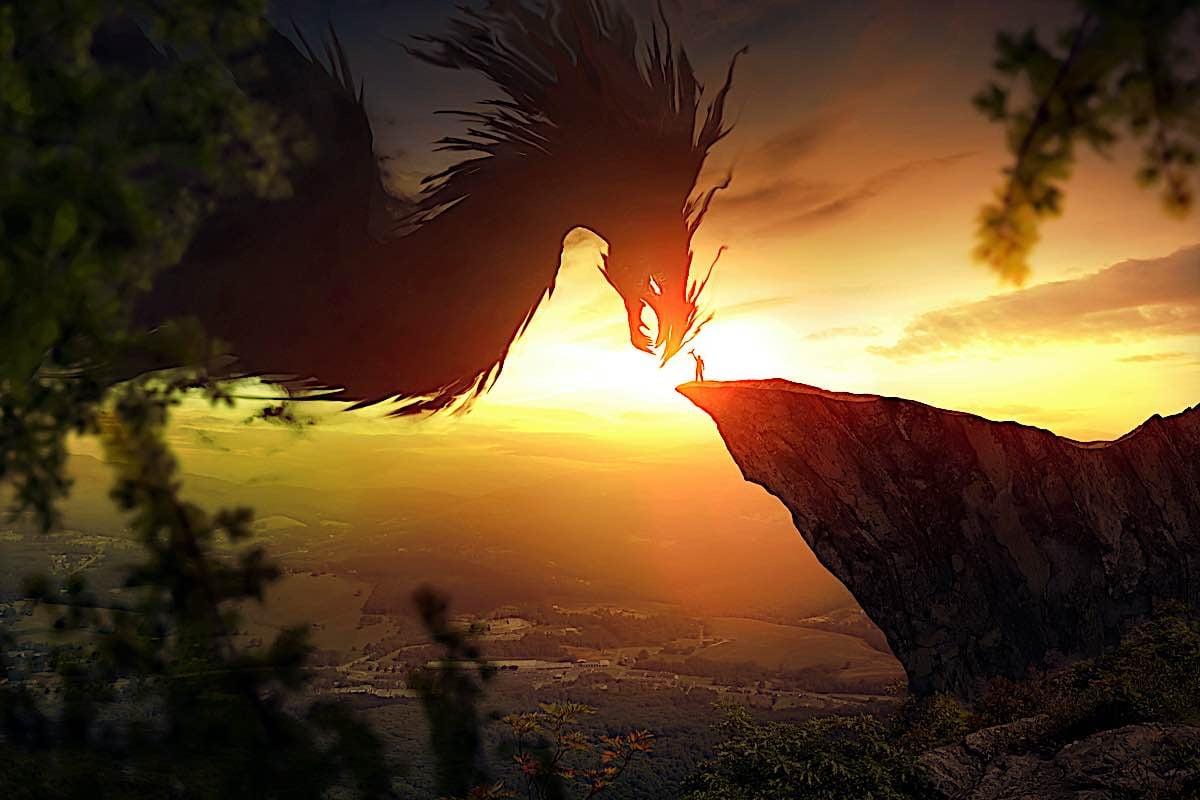 Buddha Weekly Giant Dragon western with wings dreamstime xxl 85293989 Buddhism