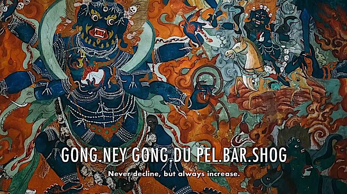 Buddha Weekly Gong ney gong du pel bar shot never decline but always increase Dedication of Merit Buddhism
