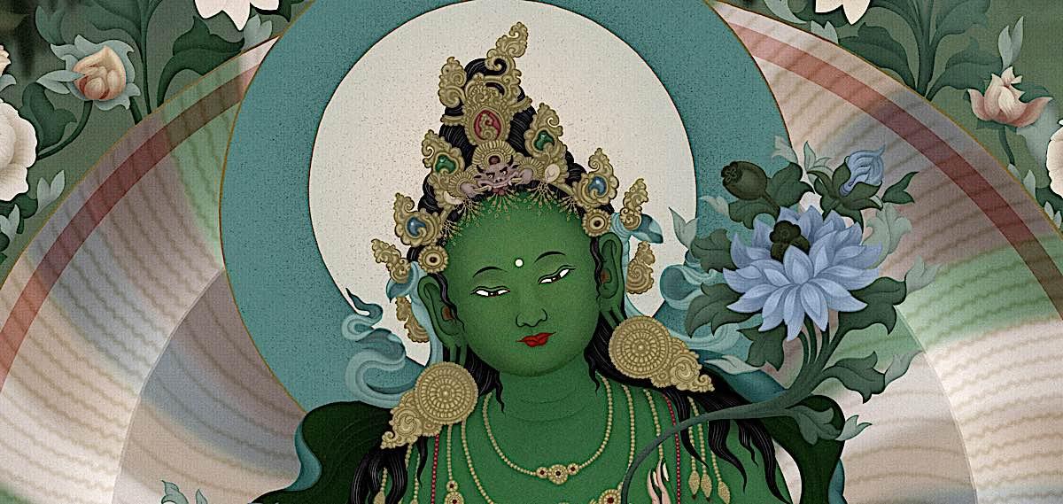 Buddha Weekly Green Tara Chittamani Tara Ben Christian Jampay Dorje Buddhism