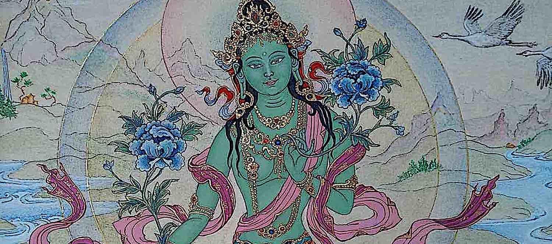 Buddha Weekly Green Tara feature shot Buddhism