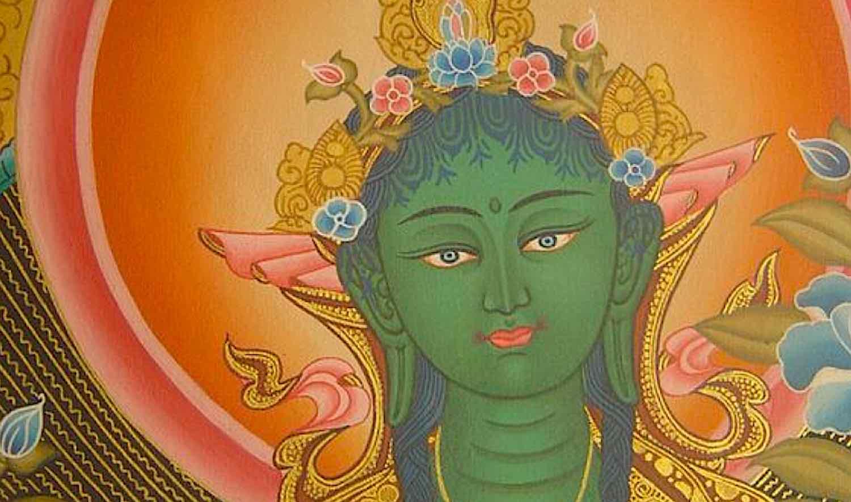 Buddha Weekly Green Tara kind and loving face Buddhism