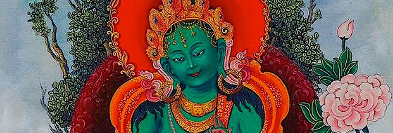 Buddha Weekly Green Tara kind face feature Buddhism