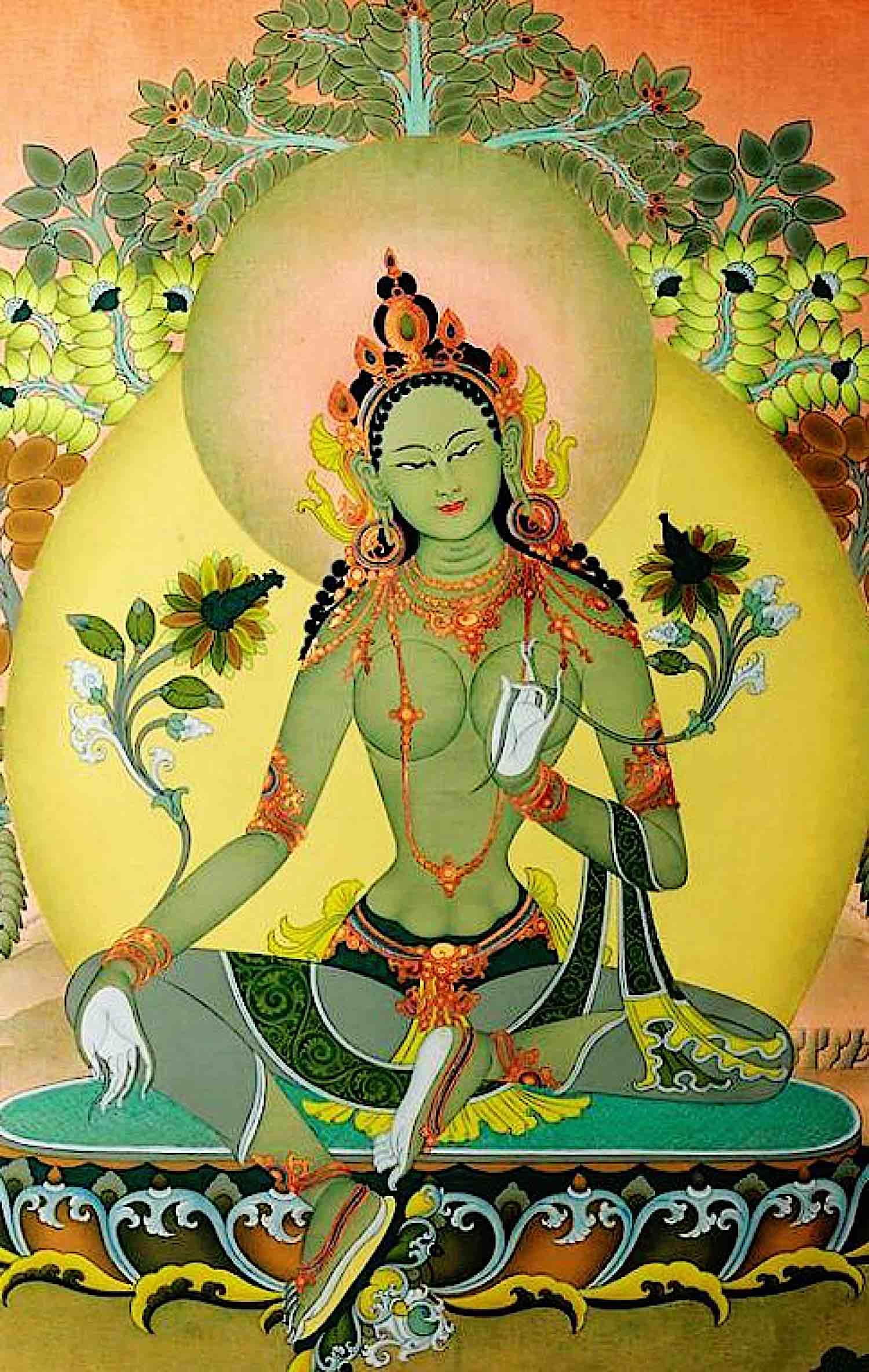 Buddha Weekly Green Tara modern Buddhism