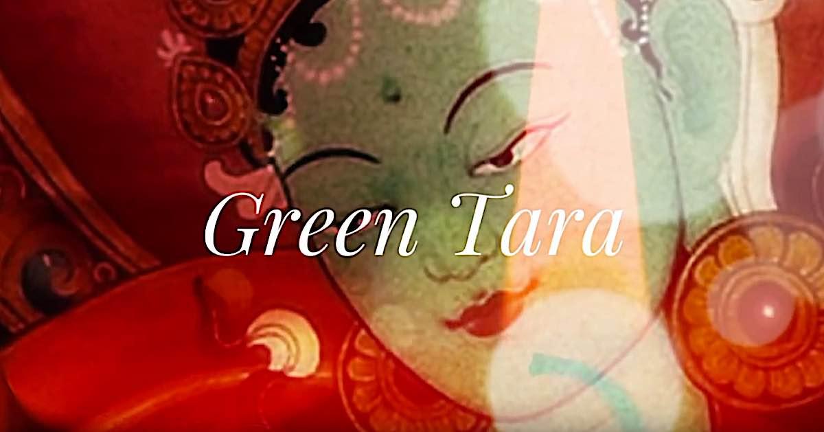 Buddha Weekly Green Tara video Buddha Weekly Buddhism