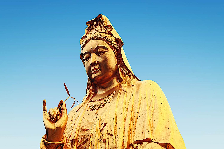 Buddha Weekly Guanyin Kwan Yin Kuan Yin Kannon Avalokiteshvara statue Goddess of Mercy Buddhism