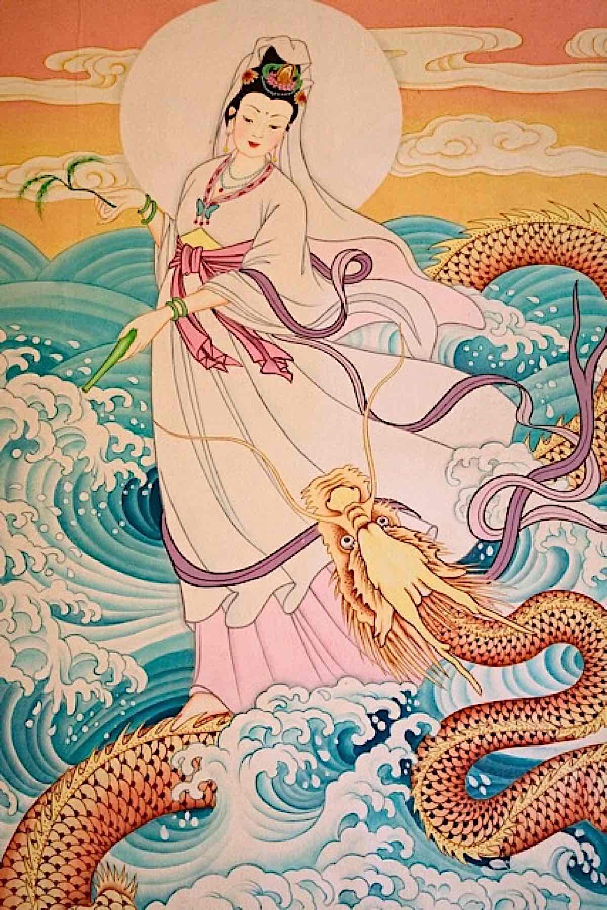 Buddha Weekly Guanyin and the Dragon King Buddhism