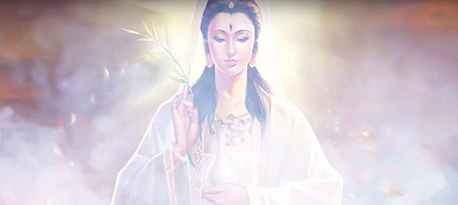 Buddha Weekly Guanyin from documentary Mysterious Temple of Guanyin Buddhism