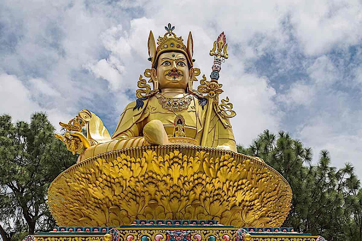 Buddha Weekly Guru Rinpoche statue Buddhism