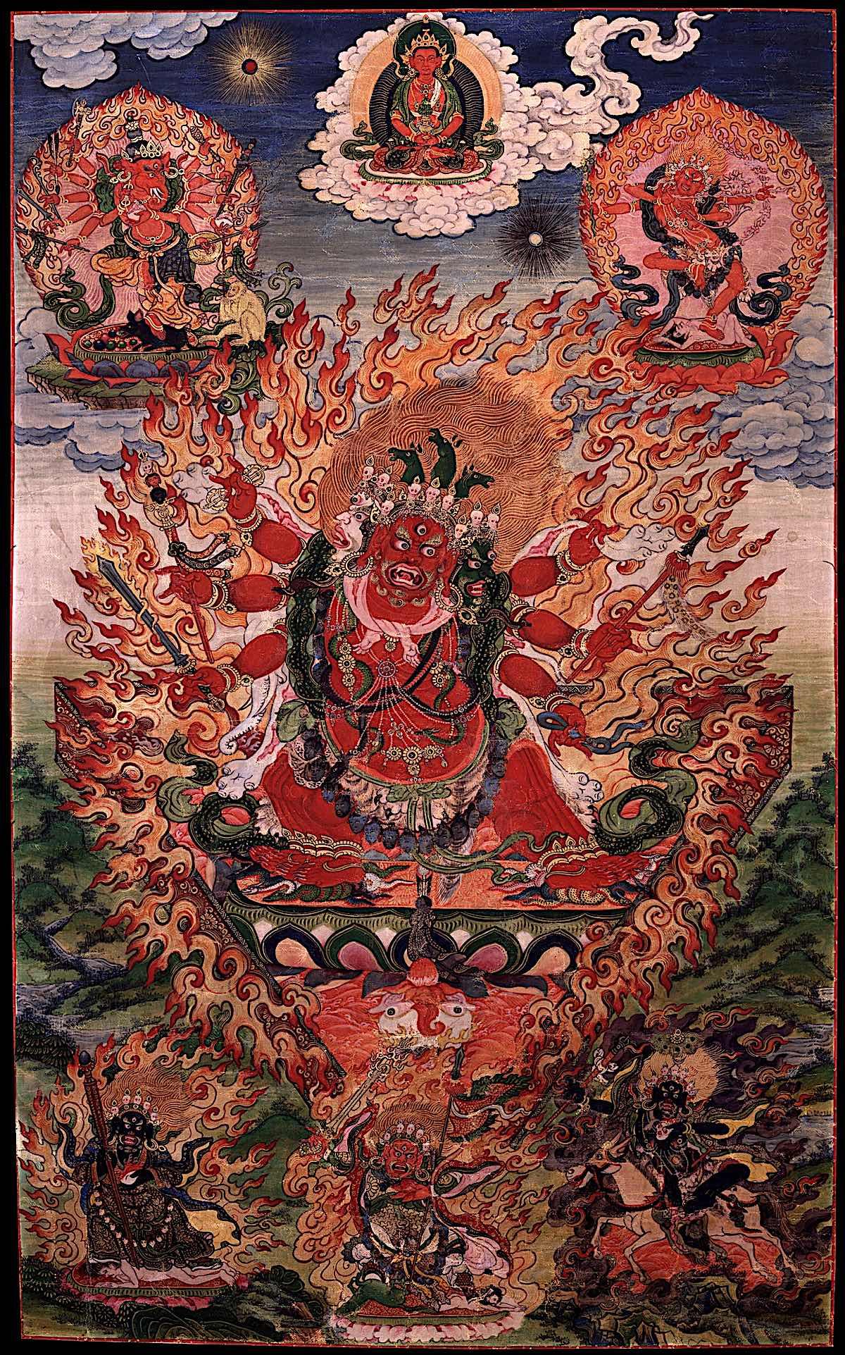 Buddha Weekly Hayagriva Ganesh Vajrayogini Amitabah low 1248 2 Buddhism