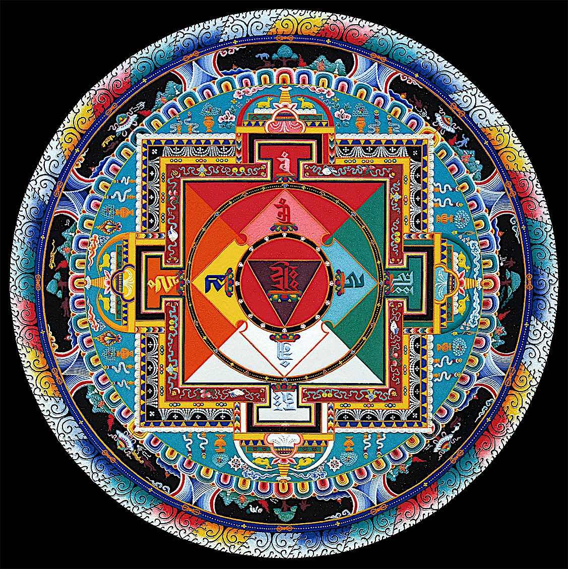Buddha Weekly Hayagriva Mandala final Buddhism
