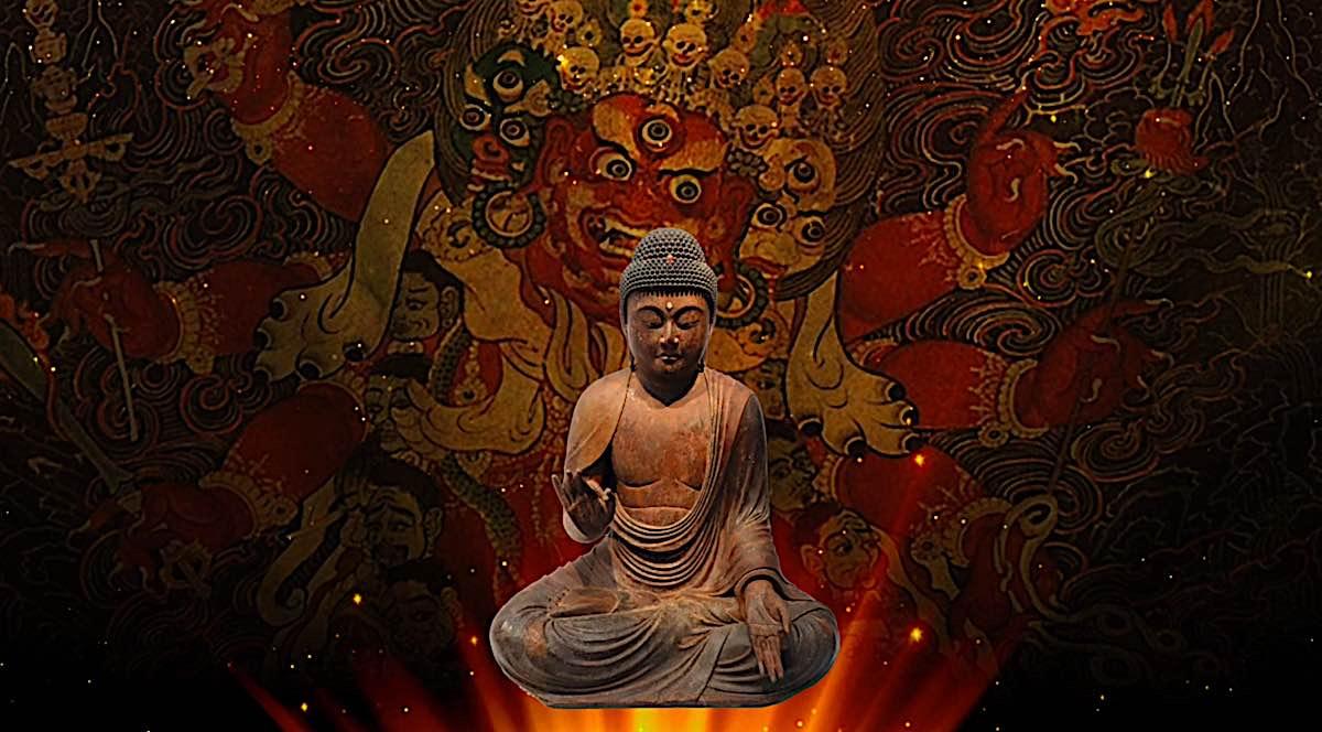 Buddha Weekly Hayagriva is a wrathful emanation of Amitabha Buddha Buddhism