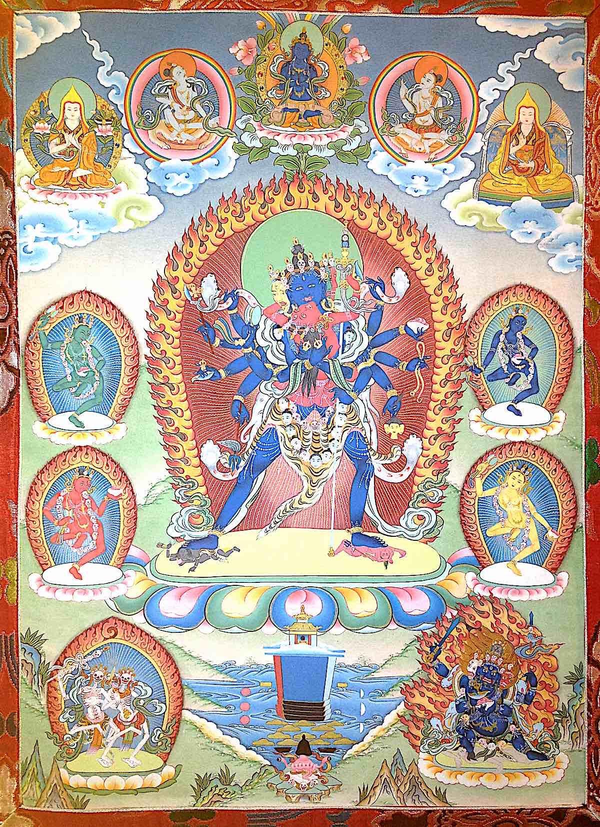 Buddha Weekly Heruka Five Deity Buddhism