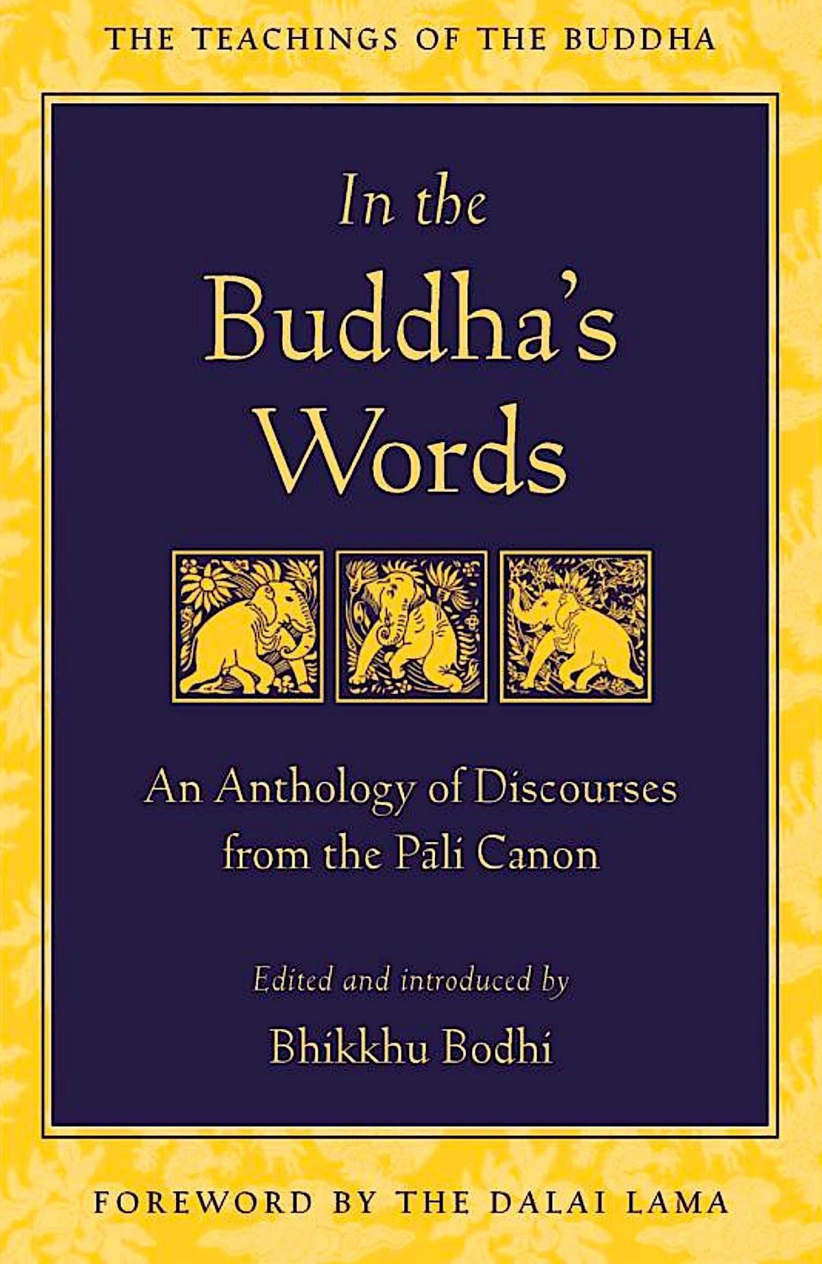 Buddha Weekly In the Buddhas Words Pali Canon Buddhism 2