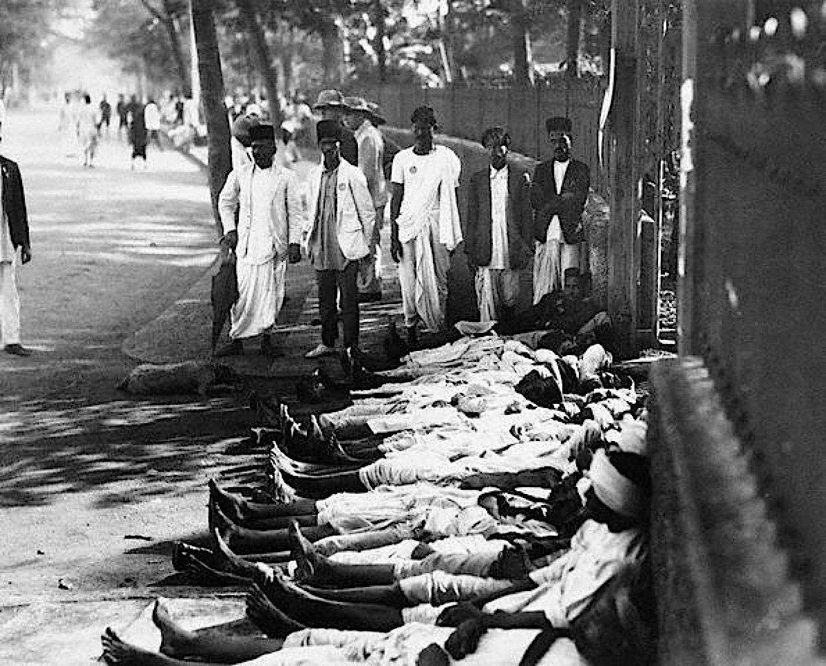Buddha Weekly Indian workers on strike in support of Mahatma Gandhi in 1930 Buddhism