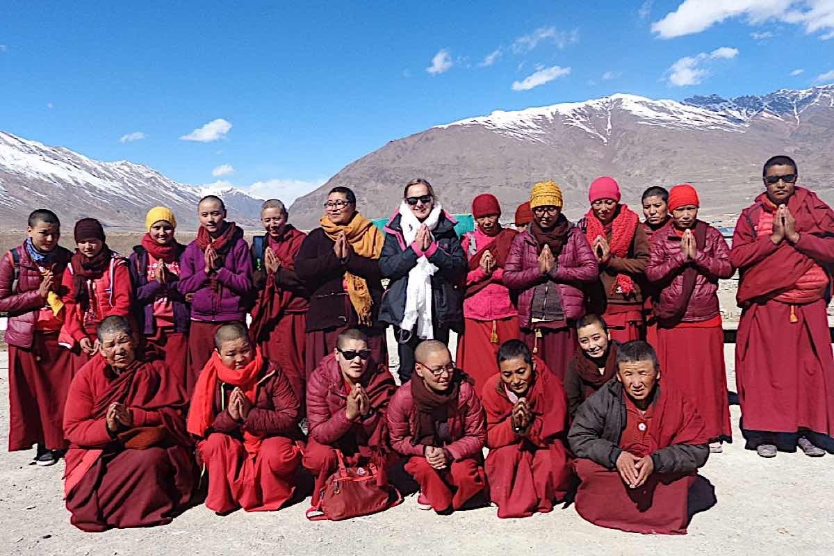 Buddha Weekly Irina and the nuns Buddhism