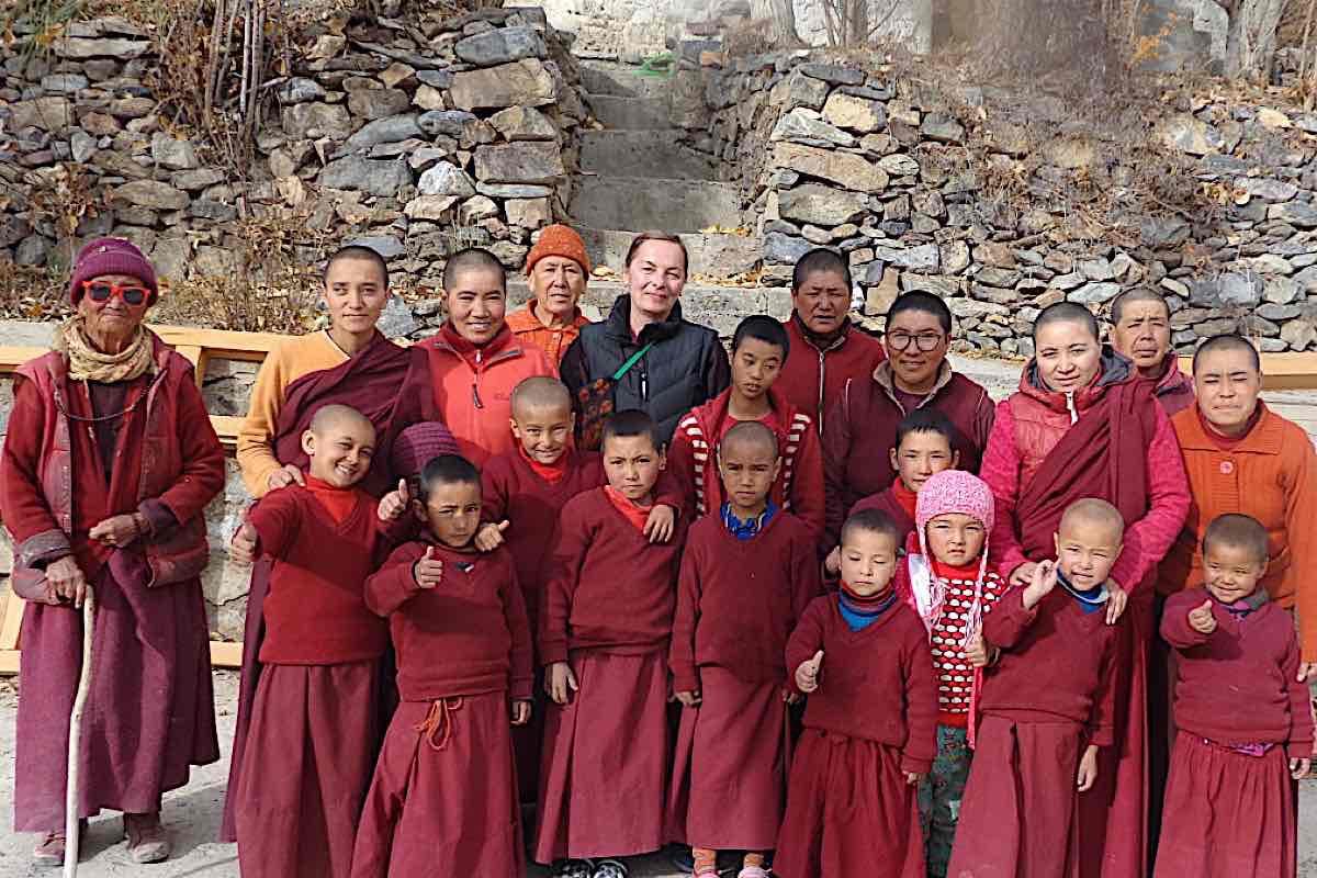 Buddha Weekly Irina and the nuns of Zanskar Buddhism