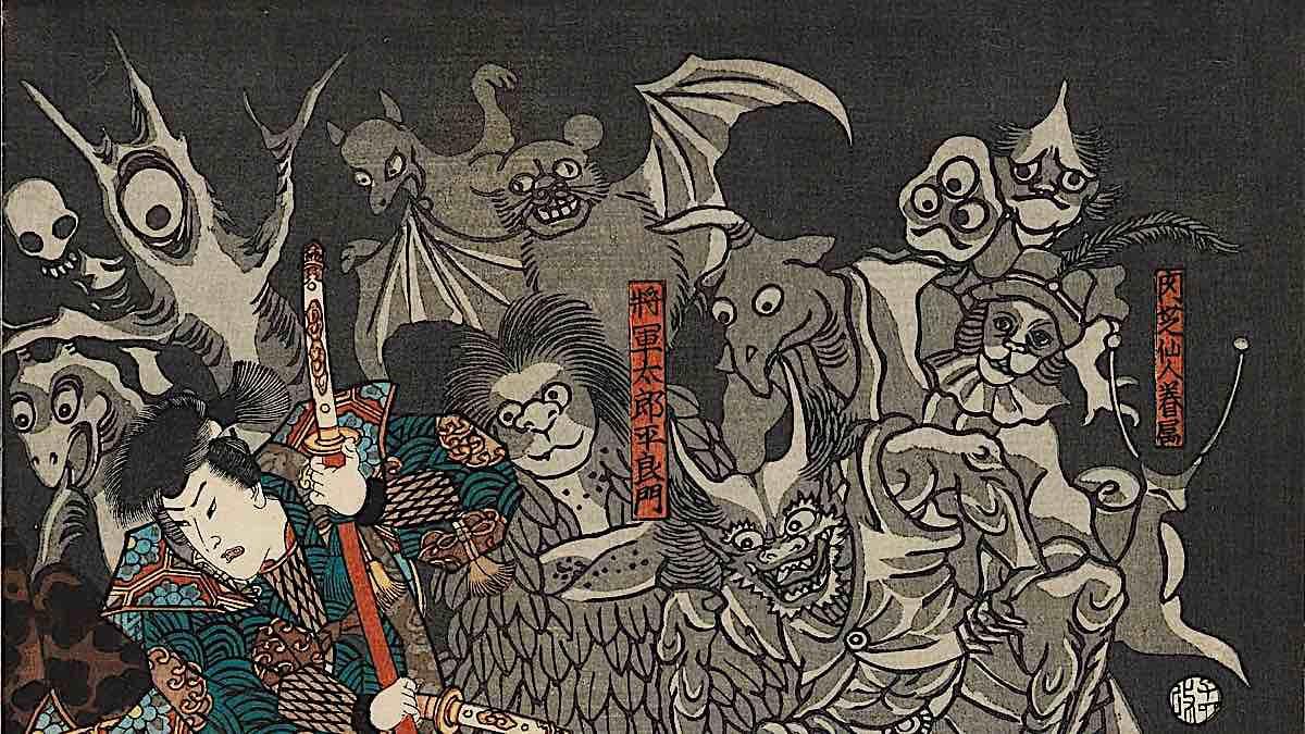 Buddha Weekly Japanese ghosts Buddhism