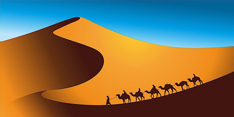 Buddha Weekly Jataka 1 Buddha wise merchant desert dreamstime xxl 158474561 Buddhism