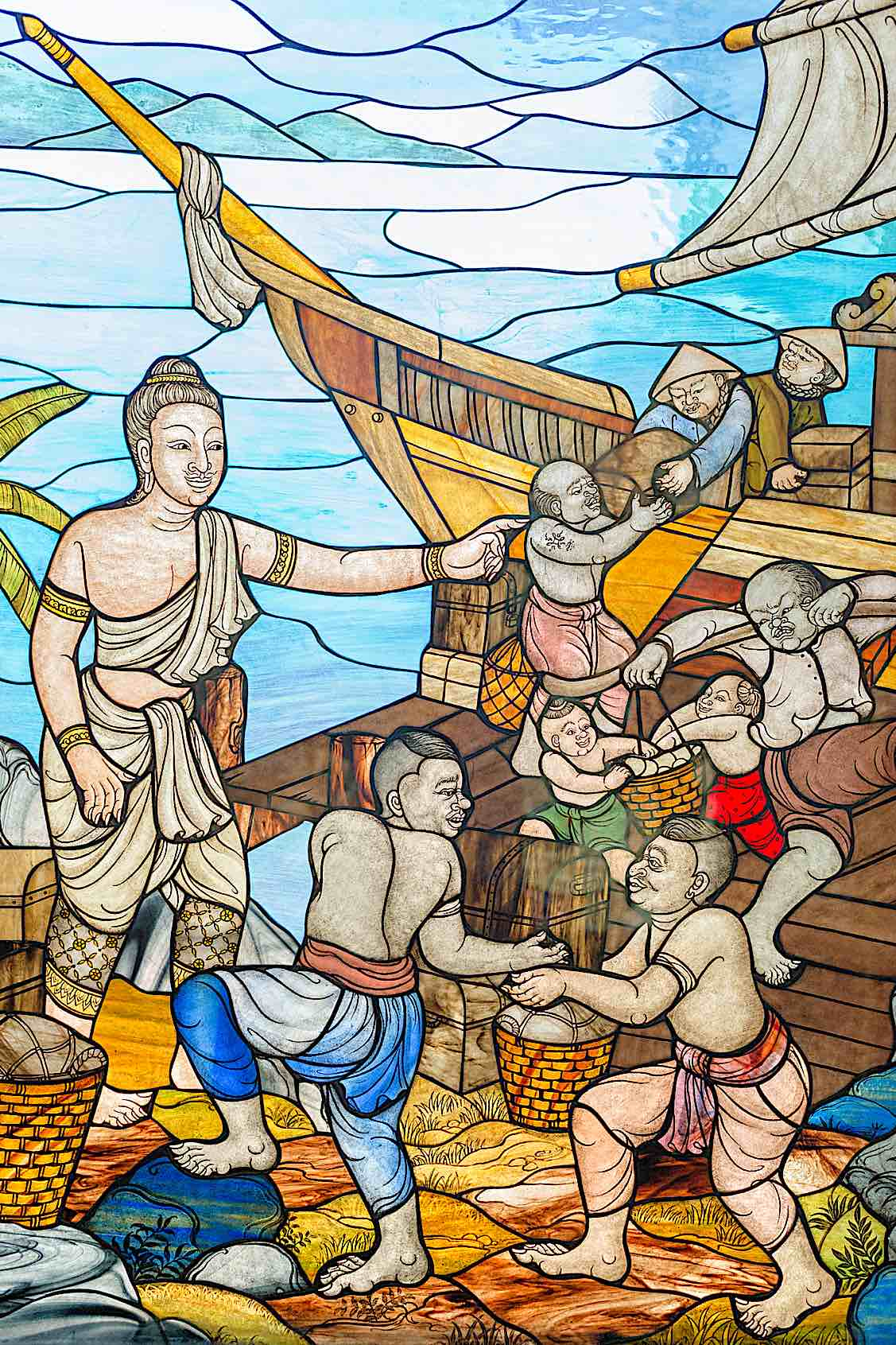 Buddha Weekly Jataka Tales story of Mahajanaka Buddhism