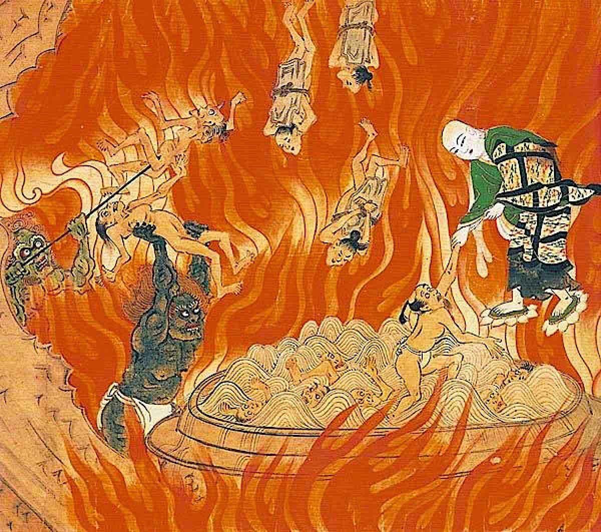 Buddha Weekly Jizo saves the demons in hell Buddhism