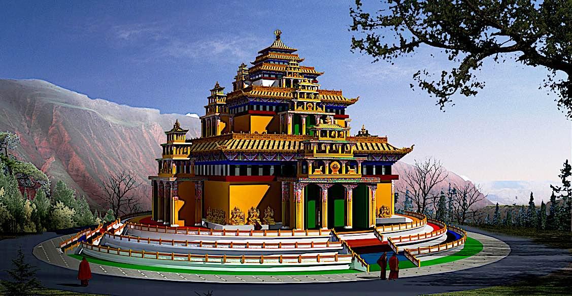 Buddha Weekly Kalachakra Mandala 3D Buddhism