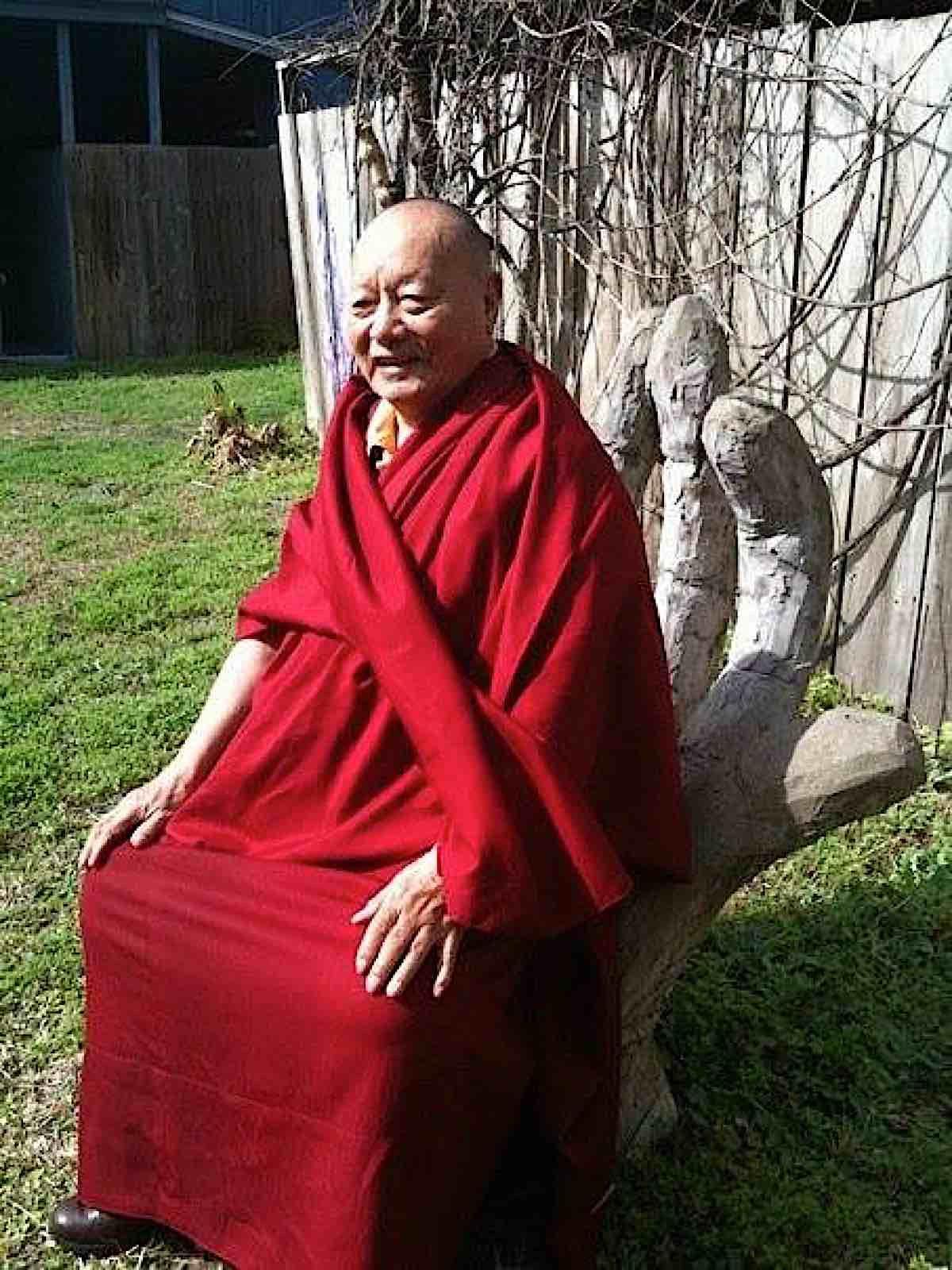 Buddha Weekly Khenpo Karthar Rinpoche sitting Buddhism