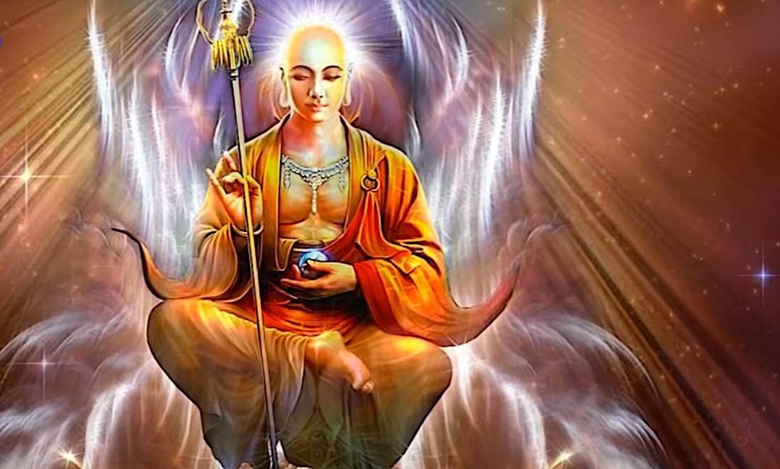 Buddha Weekly Kshitigarbha saves all beings Buddhism