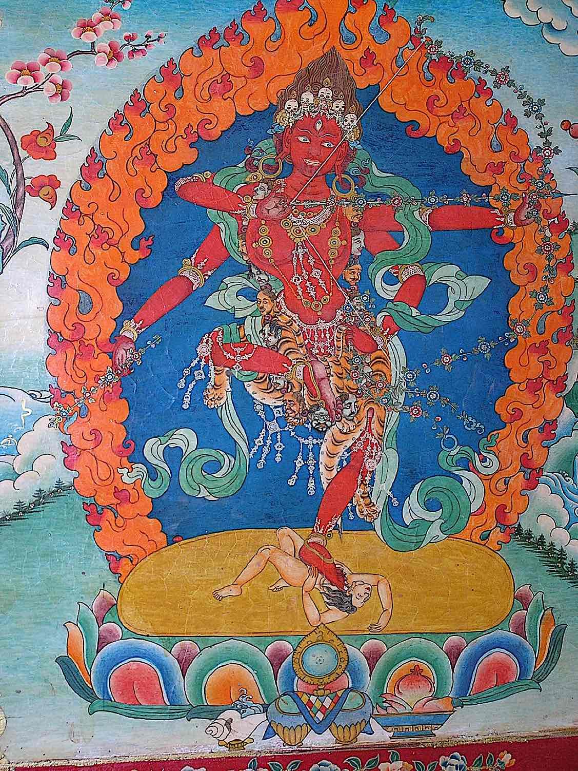 Buddha Weekly Kurukulla at Samye By ignat Buddhism