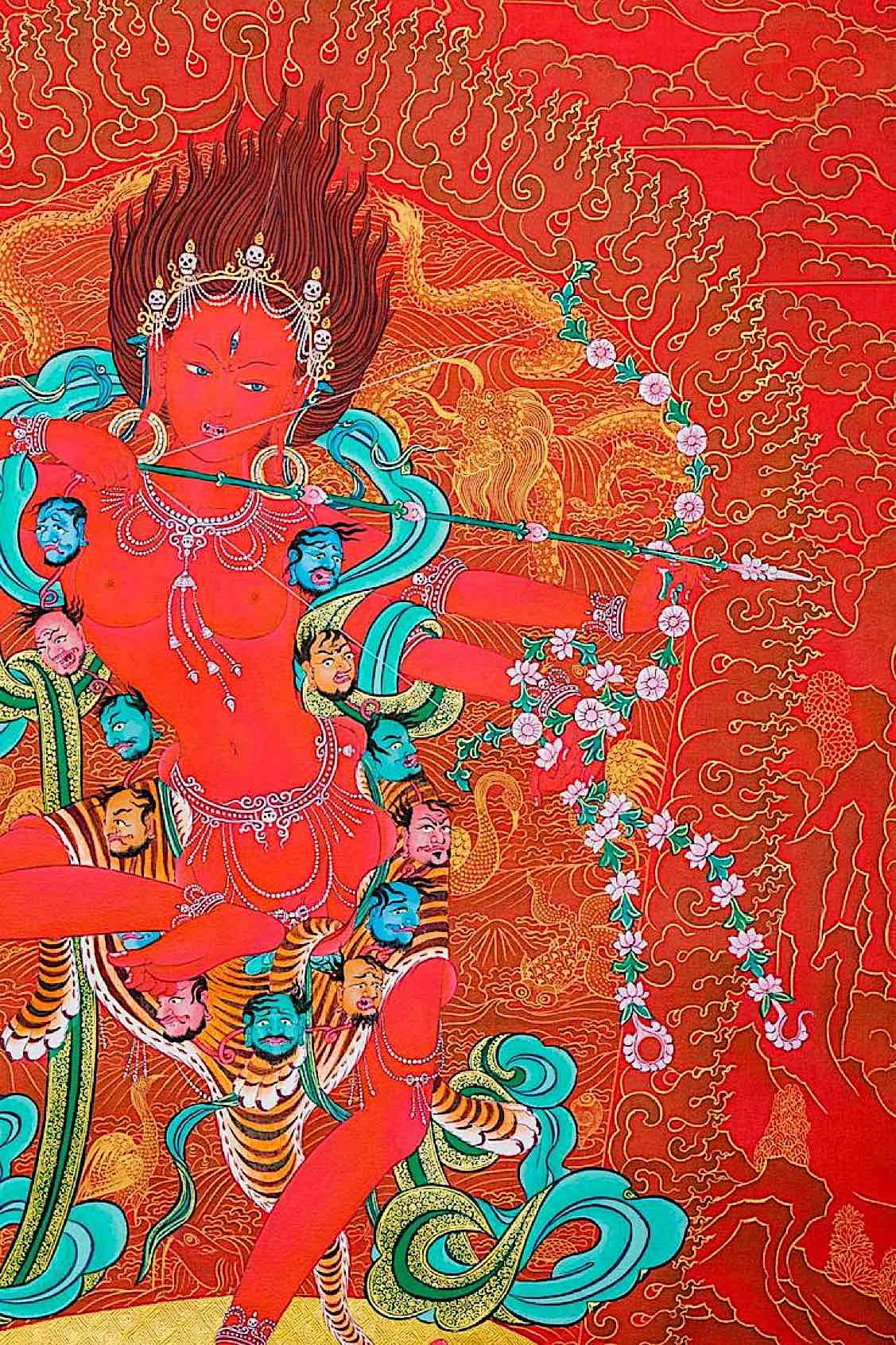 Buddha Weekly Kurukulla beautiful Buddhism