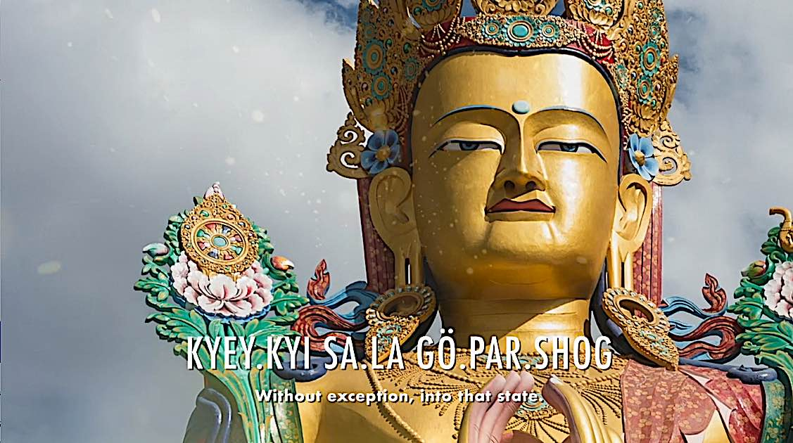 Buddha Weekly Kyey kyi sa la go par shot without exception to that state Dedication of Merit Buddhism