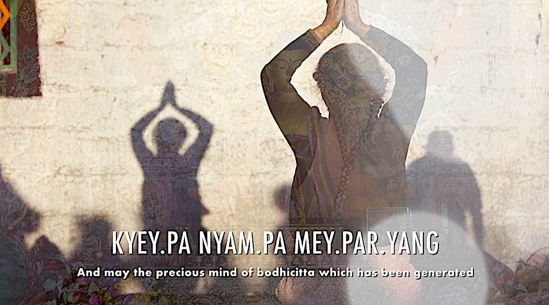 Buddha Weekly Kyey pa nnyam pa mey par yang may the precious mind of bodhichitta which has been generated Dedication of Merit Buddhism