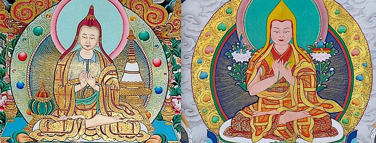 Buddha Weekly Lama Tsongkhapa and Atisha Lamrim Buddhism