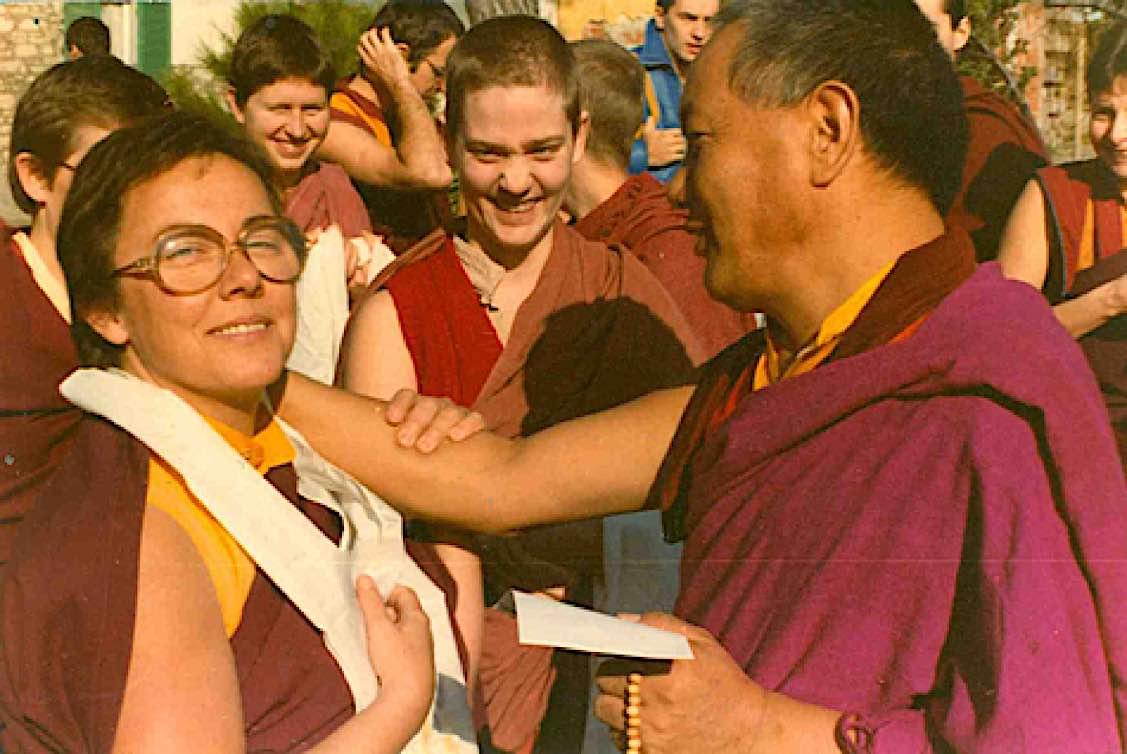 Buddha Weekly Lama Yeshe with Ven Robina Buddhism