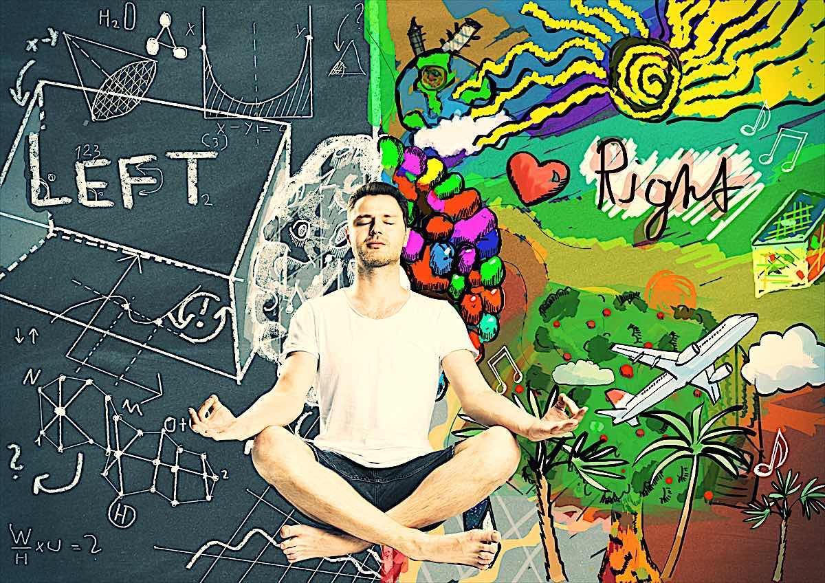 Buddha Weekly Left brain ight brain meditation dreamstime xxl 61679741 Buddhism