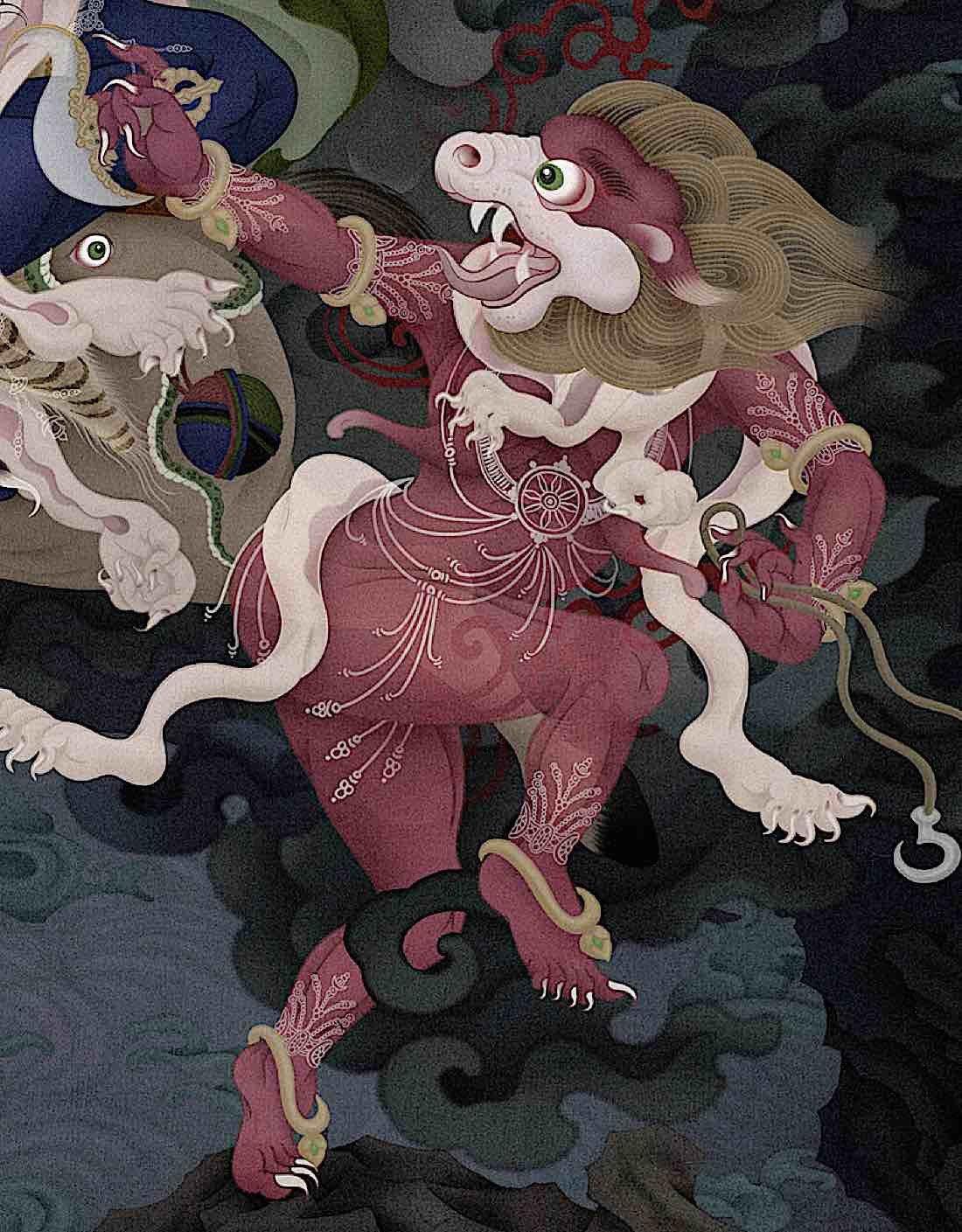 Buddha Weekly Lion Faced Dakini Buddhism