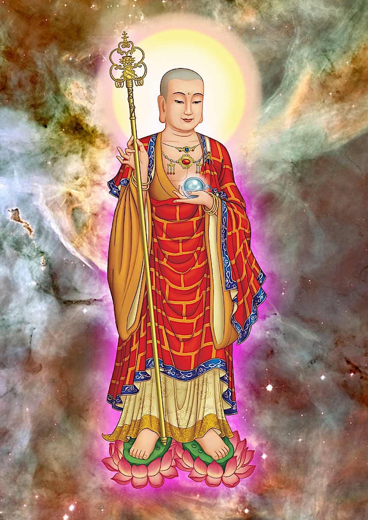 Buddha Weekly Lord Kshitigarbha Ahn Dia Tang Chat lurong cao Buddhism