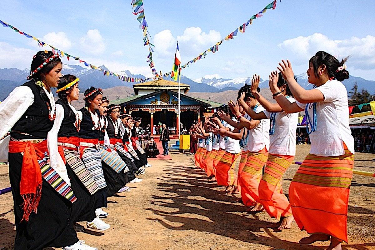 Buddha Weekly Losar Festival dancing Buddhism