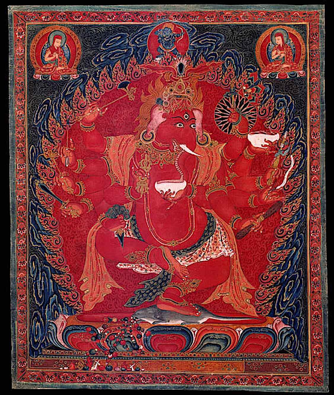 Buddha Weekly Maharakta Ganapati Buddhism