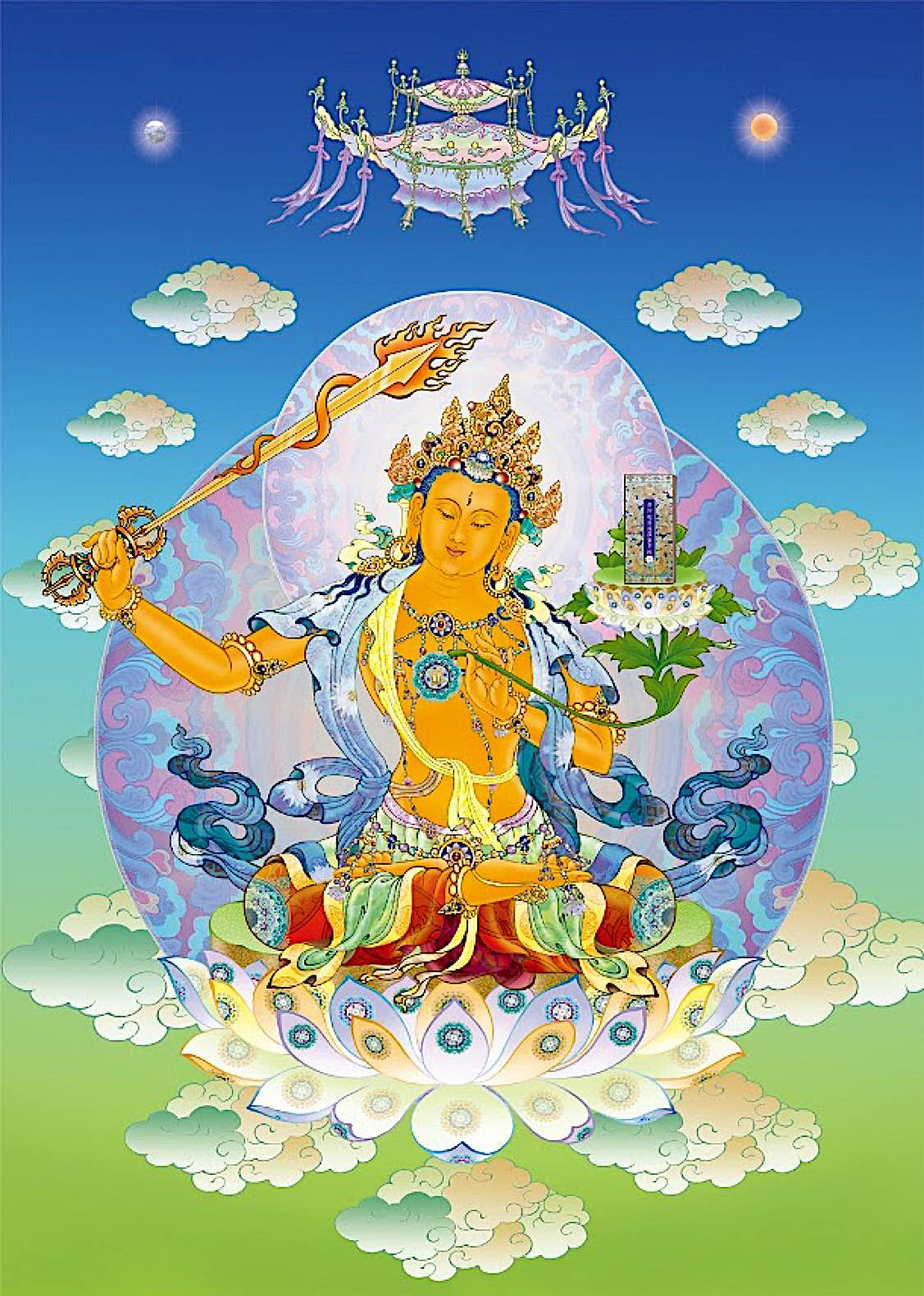 Buddha Weekly Manjushri 文殊菩薩 藏傳 by 依林法師 LifeTV Buddhism