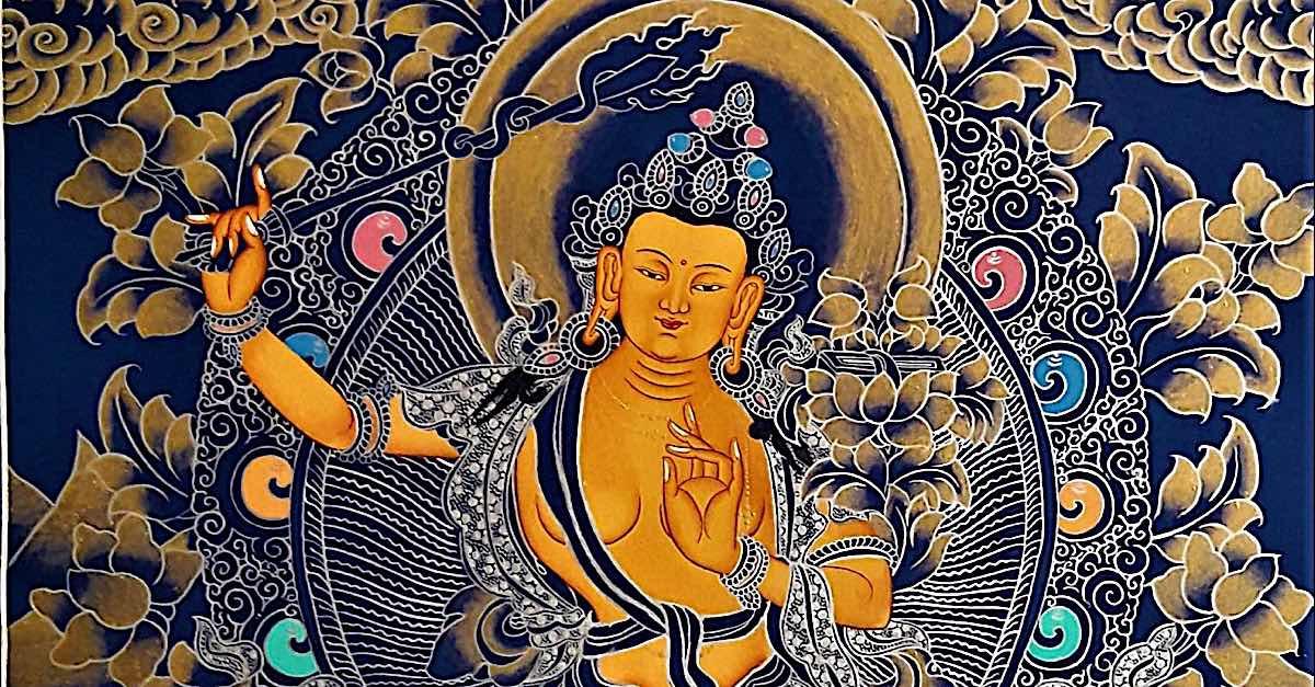 Buddha Weekly Manjushri horizontal Buddhism